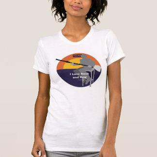 Camiseta Eu amo a rocha e a fileira -- Laurie