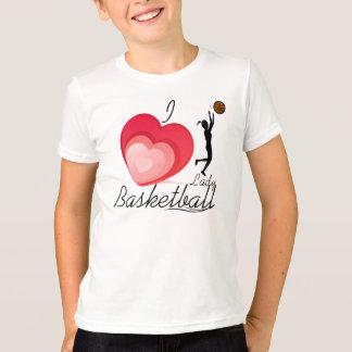 Camiseta Eu amo a senhora Basquetebol T=Shirt