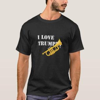 Camiseta Eu amo a trombeta