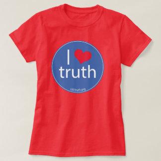 Camiseta Eu amo a verdade