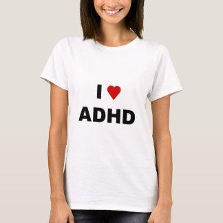 Camiseta Eu amo ADHD