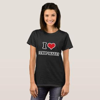 Camiseta Eu amo alamedas de tira