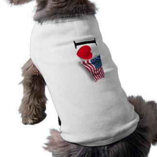 Camiseta Eu amo América