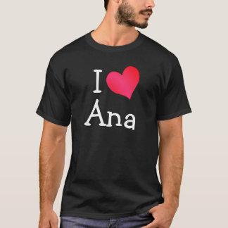 Camiseta Eu amo Ana