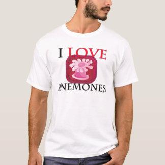 Camiseta Eu amo anêmonas