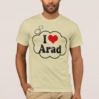 Camiseta Eu amo Arad, Romania