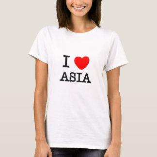 Camiseta Eu amo Ásia