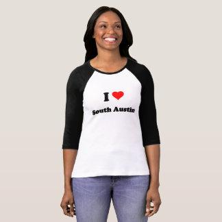 Camiseta Eu amo Austin sul