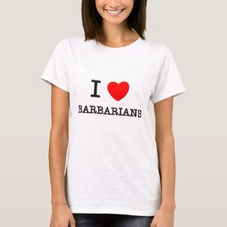 Camiseta Eu amo bárbaros