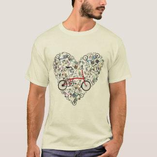 Camiseta Eu amo bicicletas de Brompton