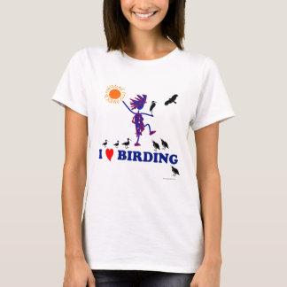 Camiseta Eu amo Birding