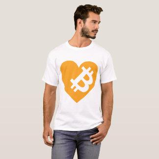 Camiseta Eu amo Bitcoin