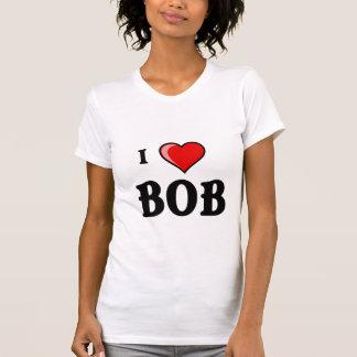 Camiseta Eu amo Bob