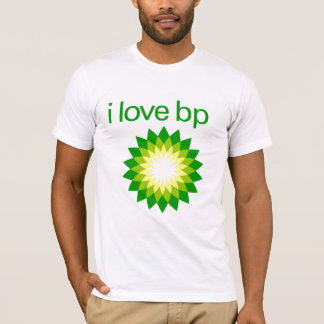 Camiseta Eu amo BP