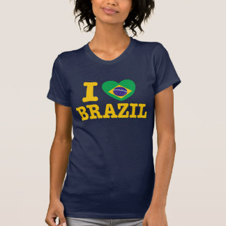 Camiseta Eu amo Brasil