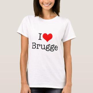 Camiseta Eu amo Bruges