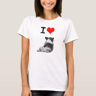 Camiseta Eu amo bumbuns do Corgi