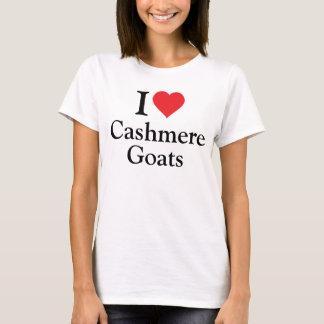 Camiseta Eu amo cabras de caxemira