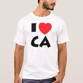 Camiseta Eu amo Califórnia