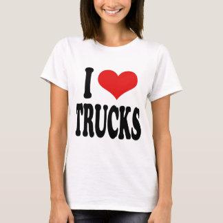 Camiseta Eu amo caminhões