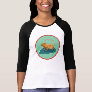 Camiseta Eu amo Capybaras