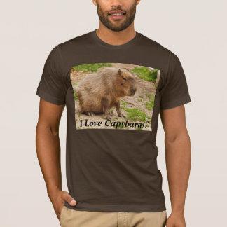 Camiseta Eu amo Capybaras! T-shirt