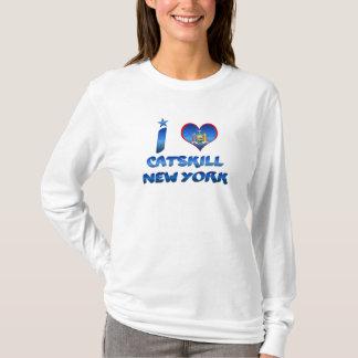 Camiseta Eu amo Catskill, New York