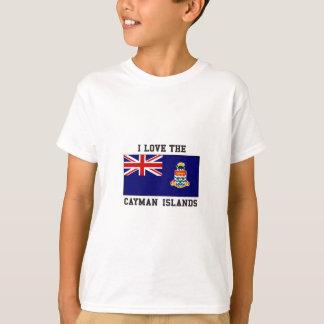 Camiseta Eu amo Cayman Islands