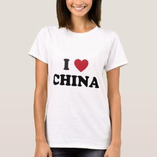 Camiseta Eu amo China