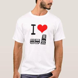 Camiseta Eu amo competir