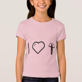 Camiseta Eu amo cordas de salto