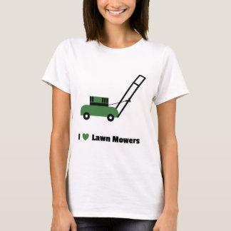 Camiseta Eu amo cortadores de relva