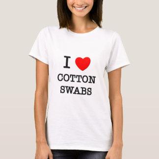Camiseta Eu amo cotonetes de algodão