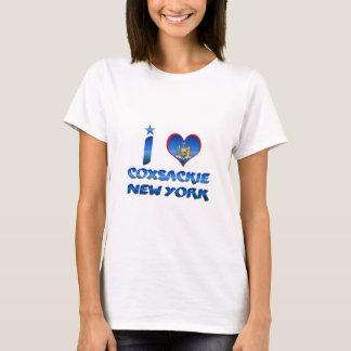 Camiseta Eu amo Coxsackie, New York