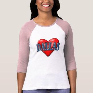 Camiseta Eu amo Dallas Texas