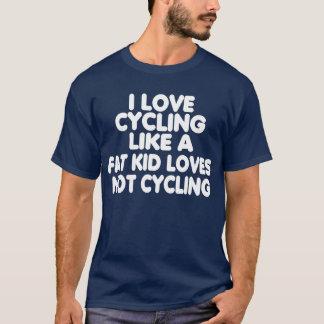 Camiseta Eu amo dar um ciclo