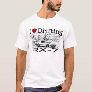 Camiseta Eu amo derivar RX-7