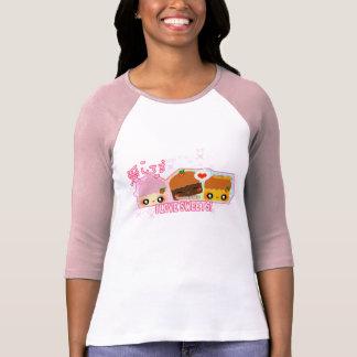 Camiseta Eu amo doces!