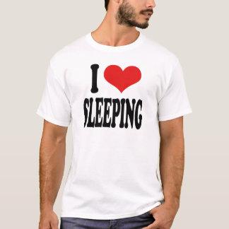 Camiseta Eu amo dormir