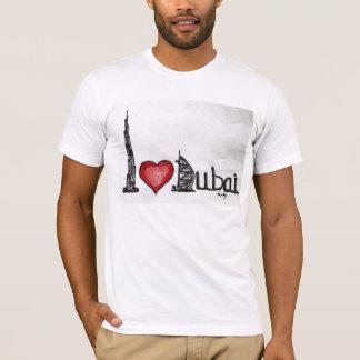 Camiseta Eu amo Dubai