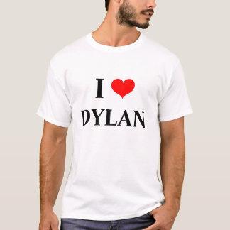 Camiseta Eu amo dylan