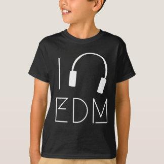 Camiseta Eu amo EDM