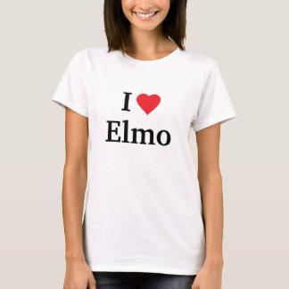 Camiseta Eu amo Elmo