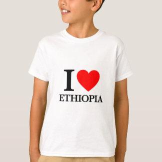 Camiseta Eu amo Etiópia