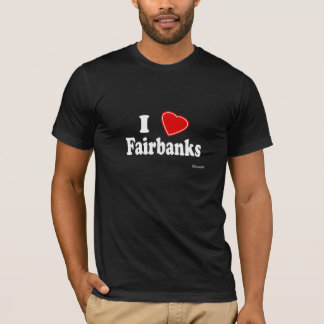 Camiseta Eu amo Fairbanks