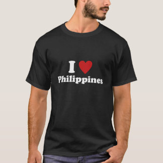 Camiseta Eu amo Filipinas