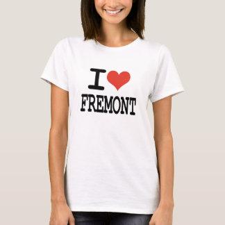 Camiseta Eu amo Fremont