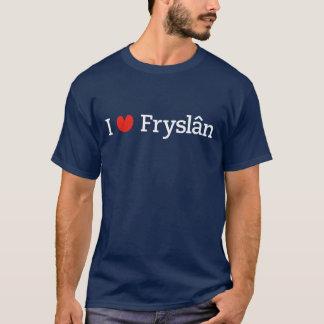 Camiseta Eu amo Fryslân