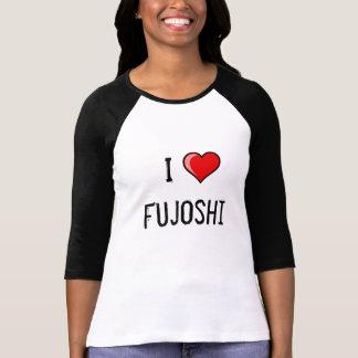 Camiseta Eu amo Fujoshi