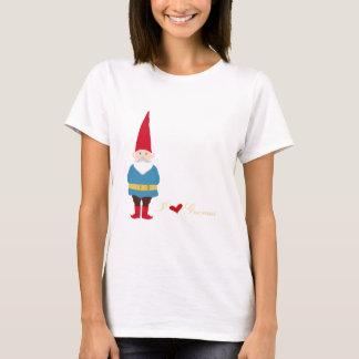 Camiseta Eu amo gnomos